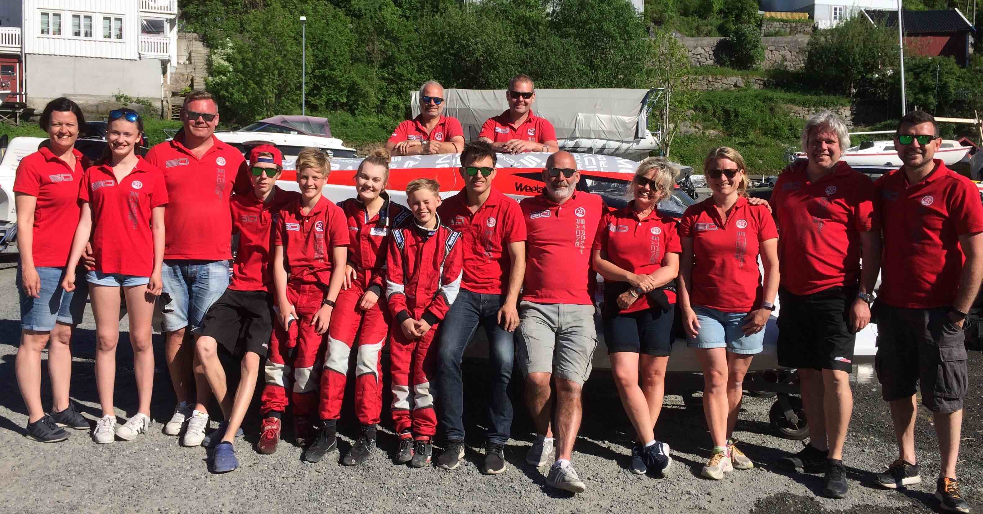 Great results in Tvedestrand