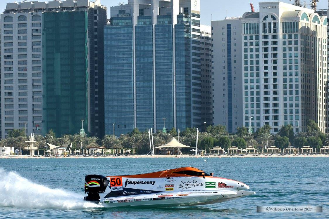 4th in free practice on the first day of Abu Dhabi GP